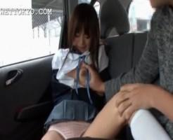 【拉致レイプ】通学中のロリJKを車で拉致して犯す鬼畜映像・・・