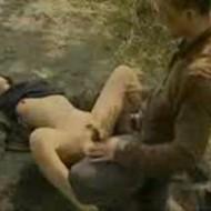 【野外レイプ動画】最後の結末は悲惨な事に・・・ジョギング中に襲われ中出し強姦された女性の悲劇!