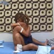 【無修正盗撮動画】ハスキーボイスの関西弁制服ギャルとのセックスを隠し撮りしたったwww