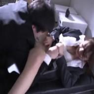 【レイプ動画】上司のセクハラに抵抗した美人OLが逆切れされて強引にレイプされてしまう・・・