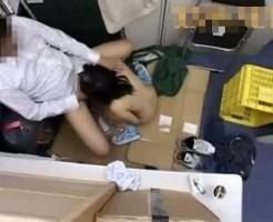 【ロリレイプ動画】万引きした中学生の少女が鬼畜な店長にフェラチオ強要され、そのまま・・・