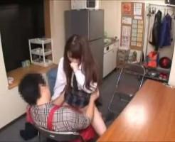 【ロリレイプ動画】万引きした女子高生にマンコで弁償させるエロ店長の凶行!強引にチンコしゃぶらせ生姦中出し・・・