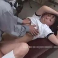 【ロリレイプ動画】用務員に監禁された中学生の少女が体操服姿のまま生肉棒ぶち込まれ妊娠確実な濃厚精子注入されてしまう・・