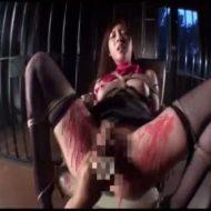 【SMレイプ動画】真面目なOLを拉致監禁して身動き取れなく四肢を緊縛!極太電マをぶち込んで全身蝋責め絶叫アクメ!