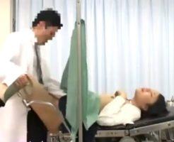 【JCレイプ動画】生理不順で産婦人科に訪れた無知なJC少女を「薬入れるから股開いて」と騙し肉棒ぶち込む悪徳医師ww