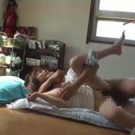 【レイプ動画】ストーカーの凶悪な犯行!女子大生の自宅に不法侵入し熟睡する女の子をやりたい放題犯す中出し強姦・・・