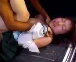 【ガチレイプ動画】下校中のJKを車で拉致って野外レイプ!泣きわめく少女を容赦なく犯す残忍な中出し姦・・・