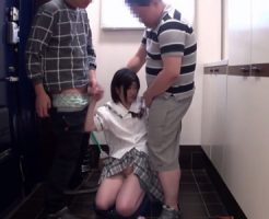 【JCレイプ動画】同じマンションのパワー系池沼兄弟に捕まってしまった女子中○生の末路…