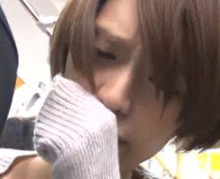 【痴漢レイプ】満員電車の中で痴漢を実行し撮影したが予想外にマンコが・・・