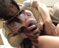 【JK レイプ動画】山奥で帰宅する女子校生を拉致し強制イマラや玩具責めで号泣強姦!