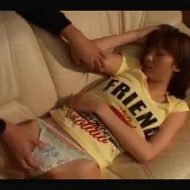 【睡眠レイプ】無防備な姿に想像が膨らみ性欲を抑えきれずパンツ脱がせて強姦レイプ