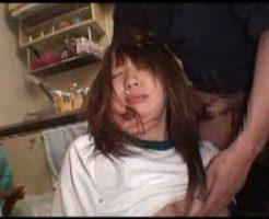 【JKレイプ動画】ロリコン男の部屋に監禁された女子校生が中出し専用肉便器に・・・