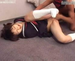 【JKレイプ動画】凶悪注意!制服姿の女子校生を緊縛監禁して生チンコでめった刺しにする種付けレイプ・・・