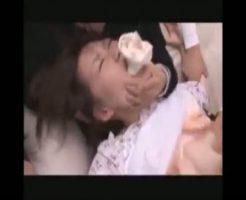 【輪姦レイプ動画】彼氏の見ている前で鬼畜教師2人に強姦された女子校生・・・