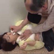 【JDレイプ動画】泣こうが喚こうが無駄!図書館でキチガイ親父に襲われた女子大生が滅茶苦茶に凌辱され強制中出し…