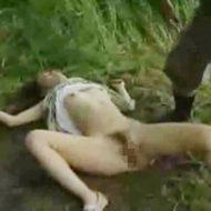 【レイプ動画】山奥で美女強姦事件!意識を失わせ無抵抗状態で好き放題に犯しまくる!