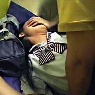【ロリレイプ動画】凄くリアルで生々しさ満載なロリカワ女子校生のハメ撮り援交映像が流出・・・