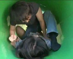 【青姦レイプ動画】白昼堂々の犯行!公園で強姦魔に襲われ中出し強姦された女子大生・・・