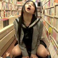 【ロリレイプ動画】本屋で見つけた真面目系の女子校生を媚薬レ○プするとアヘ顔で痙攣するほどイキまくる・・・