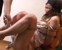 【SMレイプ動画】生意気なギャルを自宅で性奴隷にする鬼畜!目隠し緊縛で妊娠するまで無限中出し・・・