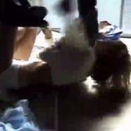 【クソッタレイプ】酷過ぎる暴行に震えあがる女を容赦なく強姦する無修正のハメ撮り映像・・・