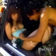 【本物レイプ】制服姿のJKを車で山奥に拉致して号泣する美少女に大量中出しのリアル強姦!