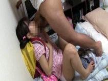 パイパンJCに性的虐待した変態父親の記録ビデオがリアル...