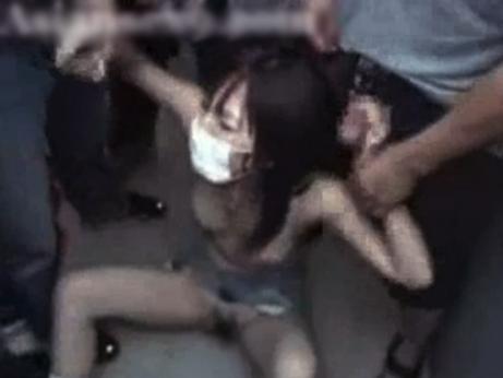 【リアルレイプ動画】調子に乗ってる女子校生がDQN集団に拉致されガチ輪姦されてる映像流出...