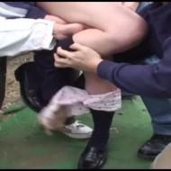 【ロリレイプ動画】通学途中のJKを拉致し泣き叫ぼうが関係なく暴力で屈服させる強姦映像...