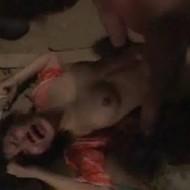 【ガチレイプ】首DQN集団に拉致され、首絞めで嗚咽混じりに集団で強姦される巨乳女…
