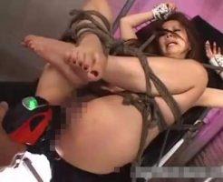 【ガチレイプ動画】元カレに拉致られたギャルが四肢を拘束されドリルバイブで子宮破壊レイプされるリベンジポルノ・・・