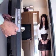 【無修正 JC レイプ動画】親の留守を狙って宅配を装い女子中○生を強姦!