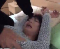 【本物レイプ動画】素人女性の後をつけて自宅に押し入り強姦した個人撮影映像!