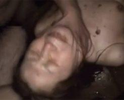 【本物レイプ動画】叫んでも無駄、ガチでやばい車内拉致し暴力振るわれ凌辱輪姦!