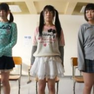 JSたちに催眠術を掛ける変態教師!言いなり少女たちに囲まれハーレム完成w
