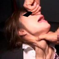 【ガチ】えぐい!ストーキングし拉致、美人OLを窒息イマラチオ!首絞め強制ファックで生中出し輪姦