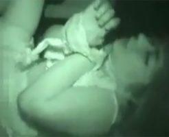 【ガチレイプ】うめき声のように泣き声と喘ぎ声が混じり、車内で強姦された個人撮影