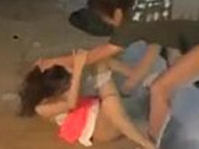 【ガチレイプ】監視カメラの映像流出 倉庫に拉致って素人女性を犯してヤリ捨てた鬼畜男・・・