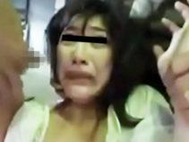 【ガチレイプ】石原さとみ似の女性がレイパー達に拉致られ号泣しながら犯される
