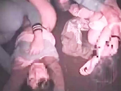 【ガチレイプ】恥辱!母と娘に暴力ふるいまとめて犯し絶叫する親子を個人撮影した鬼畜レイパー集団