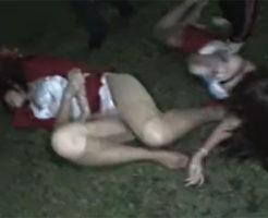 【ガチレイプ】※閲覧注意 女を車から引きずり降し野外で暴力奮って絶叫する中で犯し倒す残虐な強姦