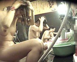 スーパー銭湯で無防備に身体を洗っている女性たちは盗撮されてるとは思わないだろう…