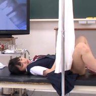 変態医師の卑猥身体測定でされたい放題の女の子がレイプされちゃう…